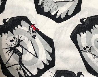 Fabric by the Yard - Disney Nightmare Before Christmas Jack Snapshots