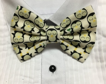 Happy Penguin Bow Tie
