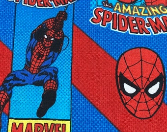 Fabric by the Yard - Amazing Spider-Man Comic