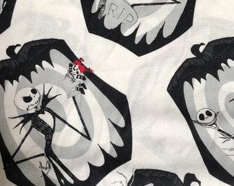 Fabric by the Yard - Disney Nightmare Before Christmas Jack Snapshots
