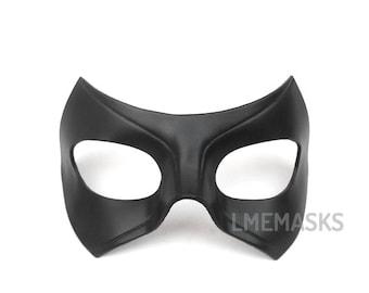 Black Canary Mask Laurel Lance Leather Mask Cosplay Arrow Series Tv Show Super Hero Halloween Masquerade Carnival Superheroine Woman Comic