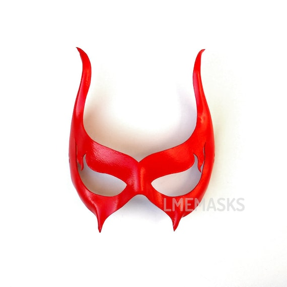 Venetian Devil Masquerade Mask Halloween Female Masked Ball Party Satanic Demon