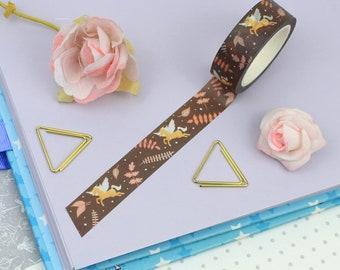 Pegasus Washi Tape | Art Journal | Bullet Journal | Floral Washi Tape | Unicorn Art Print | Unicorn Washi Tape | Unicorn Gift | Pegasus Gift