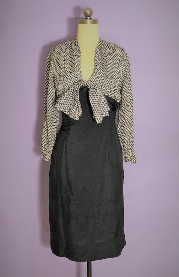 1930s vintage dress - extra small - 1930s dress wi