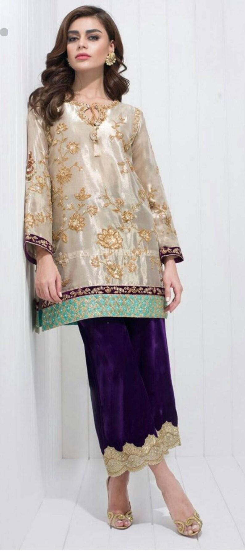 d83805f52c Sana Maskatiya inspired Pakistani wedding dress formal | Etsy