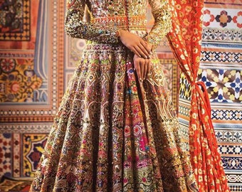 Nomi Ansari inspired bridal gown, Glory
