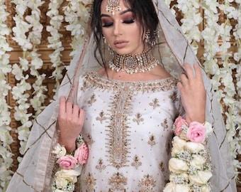 Pakistani bridal dress, nikah dress