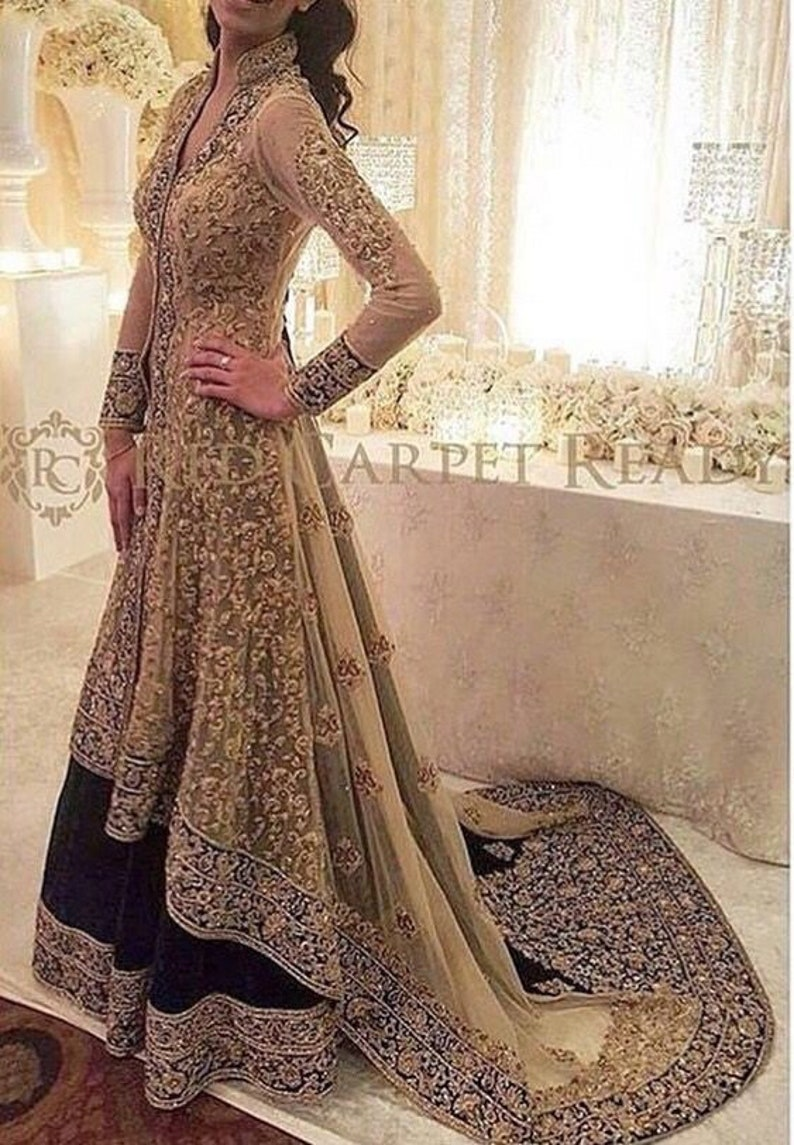 Bridal Gown Pakistani Maxi Dress Bridal Dress Womem Clothes
