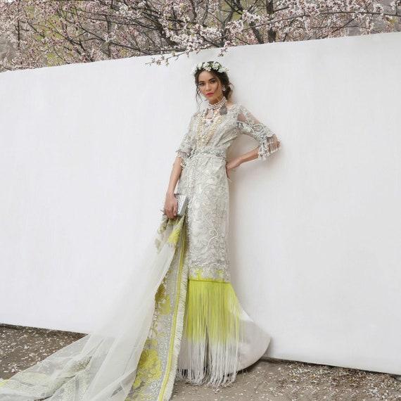 Sana Safinaz Luxus Eid Sammlung ethnische Kleidung Frauen