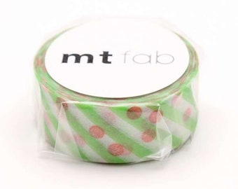 mt fab Dot x Stripe Japanese Washi Tape Masking Tape  Price depends on order volume. MTDSPR01