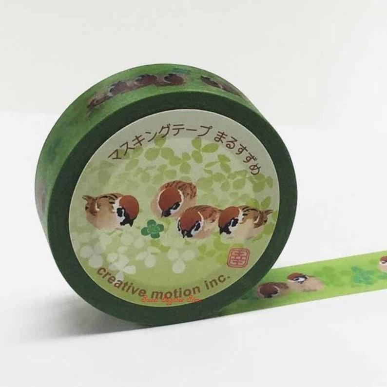 Creative Motion Sparrow Japanese Washi Tape Masking Tape Paper Tape