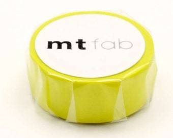 mt fab  Fluorescent Yellow Japanese Washi Tape Masking Tape  Price depends on order volume. MTFC1P04