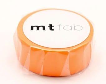 mt fab   Fluorescent Orange Japanese Washi Tape Masking Tape  Price depends on order volume. MTFC1P03