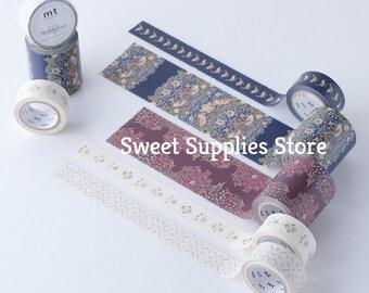 William Morris Japanese Washi Tape Brophy Trellis Daisy Strawberry Thief Bird Strawberry Thief Indigo Mineral Blackthorn Flat Rate Shipping