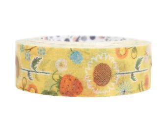 Summer Garden Japanese Washi Tape Shinzi Katoh (ks-mt-10243)  Price depends on order volume.