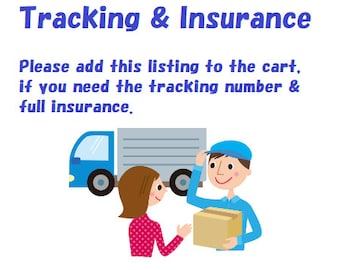 Tracking & insurance