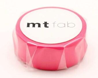 mt fab   Fluorescent Pink Japanese Washi Tape Masking Tape  Price depends on order volume. MTFC1P01