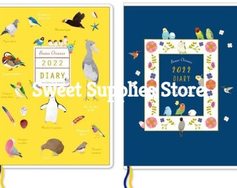2022 Bird Planner Diary Schedule Book B6  Flat Rate Shipping