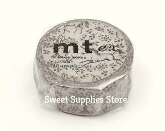 mt ex Vintage Unicorn Japanese Washi Tape Masking Tape   MTEX1P173  Flat Rate Shipping