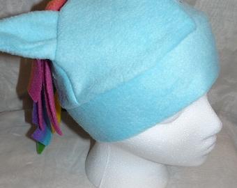 Rainbow Dash - Pony/Horse Hat - My Little Pony Inspired