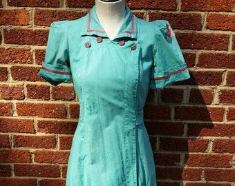 14be90c1c4f5 Diner Waitress Dress >> Vintage Workwear >> Red Owl >> Waitress Uniform