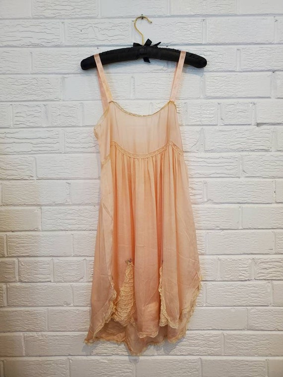 Antique 1920s Step-in Romper • 1920s Vintage Linge