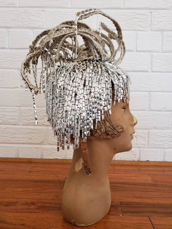 Wild Vintage Showgirl Headpiece • Las Vegas Showgi