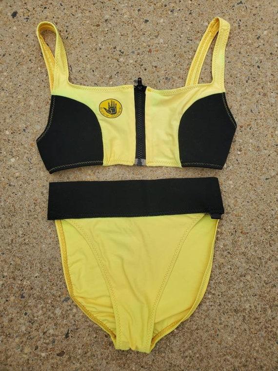Vintage 1980s 90s Body Glove Bikini • Robin Piccon