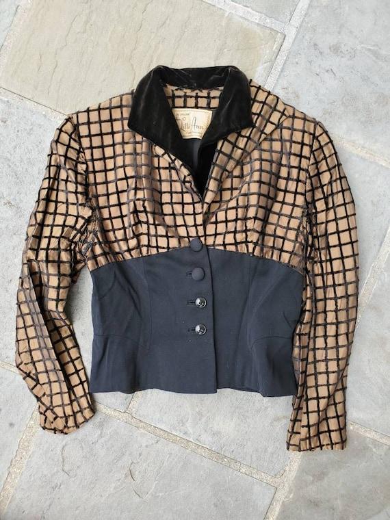 Vintage 1940s 1950s Lilli Ann Suit Jacket • Tailor