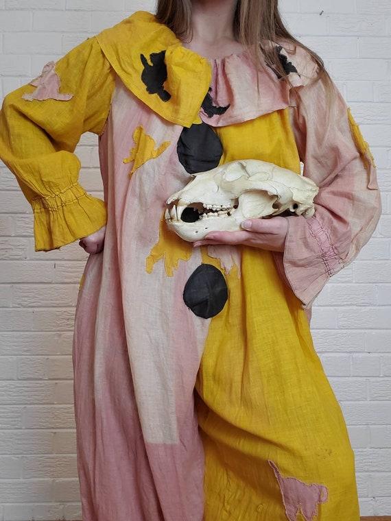Antique Clown Jumpsuit • Vintage Halloween Costume