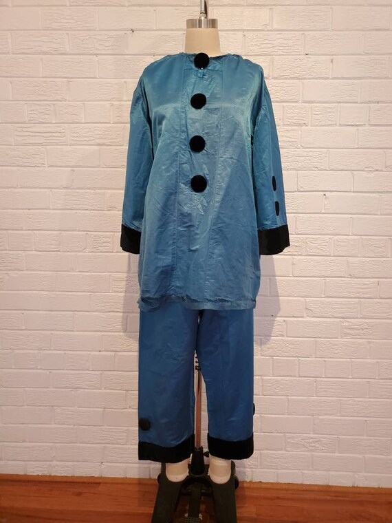Antique 1920s Pierrot Costume • French Pierrot Clo