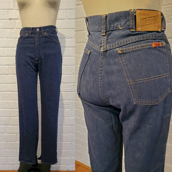 Vintage 1960s Penneys Foremost Selvedge Denim Jean