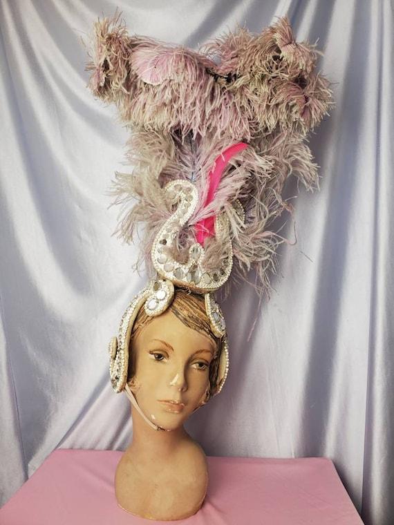 Vintage Showgirl Headpiece  • Ice Follies Costume