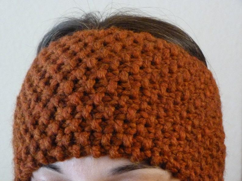 Knit Ear Warmer Headband Pattern INSTANT download | Etsy