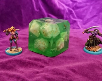 Gelly Cube Soap with Full Dice Set