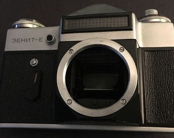 Vintage Russian made 35mm camera...FREE shipping !!