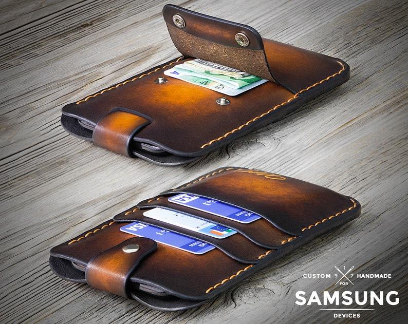 7c0e31a9235d89 Galaxy S10 Plus Leather Case Samsung Galaxy S10 Case