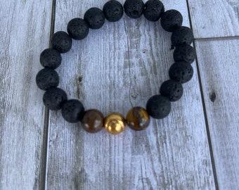 Men's Baseball bracelet men's gift fair trade boho style