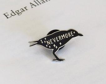 The Raven Enamel Pin