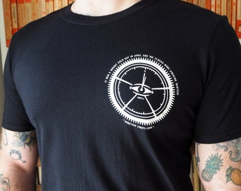 Nineteen Eighty-Four T-Shirt - George Orwell - Dystopian Literature - Book Lover - Slogan T-shirt - 1984