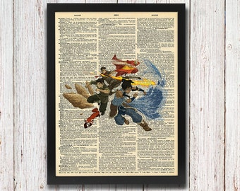 Avatar: The Legend of Korra Dictionary Art
