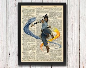 Avatar: The Legend of Korra Dictionary Art 8x10