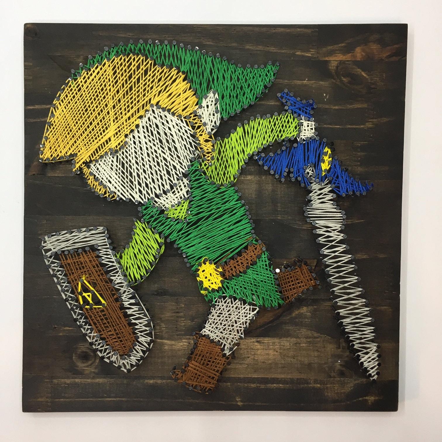 Legende von Zelda Toon Link windwärts minimalistischen String