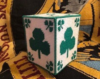 Luck of the Irish Tissue box cover
