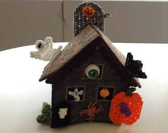 Halloween haunted house decor