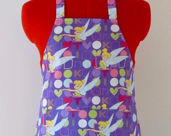 Kids Apron - Tink in the Spotlight Childrens Apron - Childs Apron - Kitchen Accessory