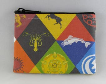 Game of Thrones Coin Purse - Coin Bag - Pouch - Accessory - Gift Card Holder