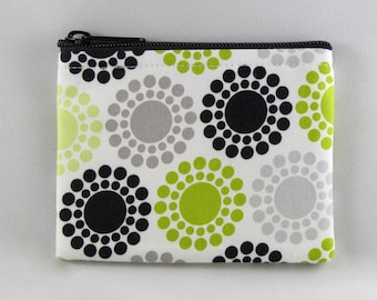 Dotted Coin Purse - Coin Bag - Pouch - Accessory - Gift Card Holder