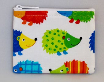 Hedgehog Coin Purse - Coin Bag - Pouch - Accessory - Gift Card Holder