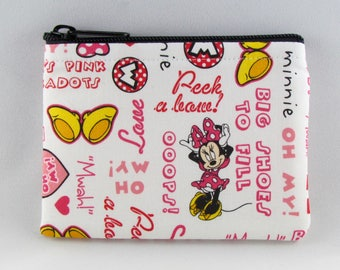 Minnie is Bow-tiful! Coin Purse - Coin Bag - Pouch - Accessory - Gift Card Holder